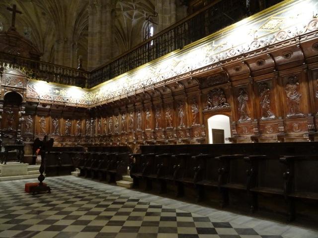 Koor van de kathedraal.