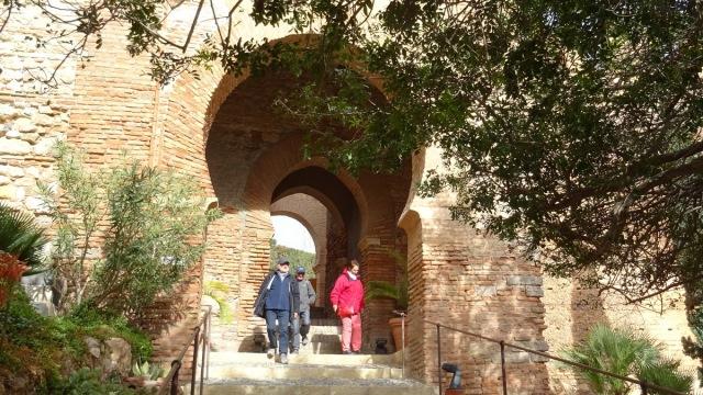 Alcazaba: ingang