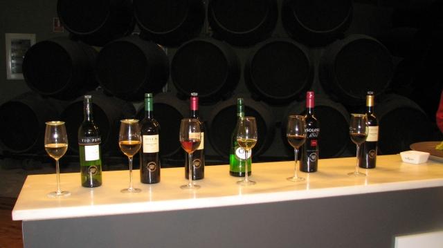 Een bezoek aan een sherrybodega mag natuurlijk niet ontbreken. Wij kozen voor Tio Pepe. Eigenlijk de merknaam van bodega Gonzalez Byass.