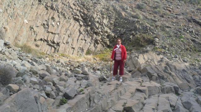 Na een redelijk lange wandeling bereik je deze unieke plaats. Ook hier weer zijn er heel speciale rotsformaties te bewonderen.