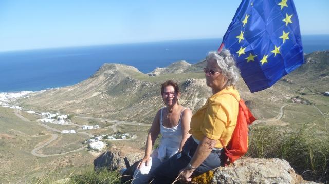 Met Ingrid en Marieke hebben we de top gehaald. Maar het was lastiger dan we veronderstelden.