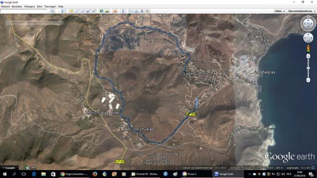 Via Hortichuela naar Las Negras