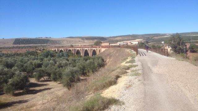 Via Verde de Guadalimar. (16 km) Oude spoorlijn die de olijfolie transporteerde.